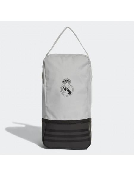 arcilla Discrepancia novedad  Neceser Adidas Real Madrid bolsa para calzado CY5610-BLANCO/NEGRO