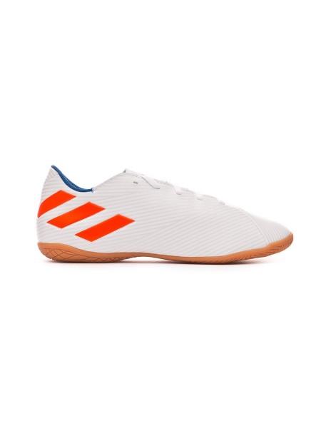 caa6fcc90d9 Adidas Nemeziz Messi 19.4 zapatillas futbol sala blanco/azul F99928 ...
