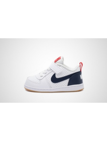 Nike Court Borough Low TDV zapatillas deportivas para bebé