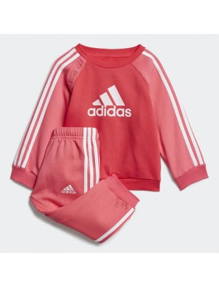 Adidas Logo Jogger Fleece chándal para bebé ED1178 ROSAFUCSIA